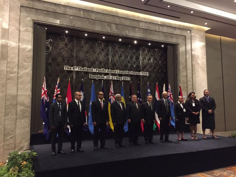 4TH THAILAND- Pacific Island Countries Forum (TPIF)
