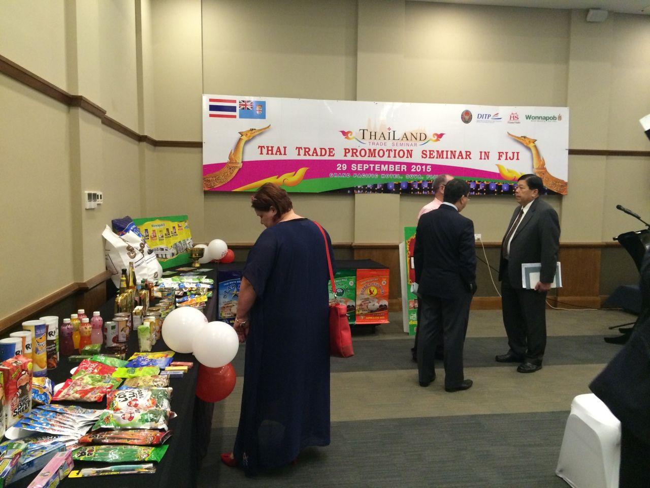 Trade Show at Fiji on 29 September 2015